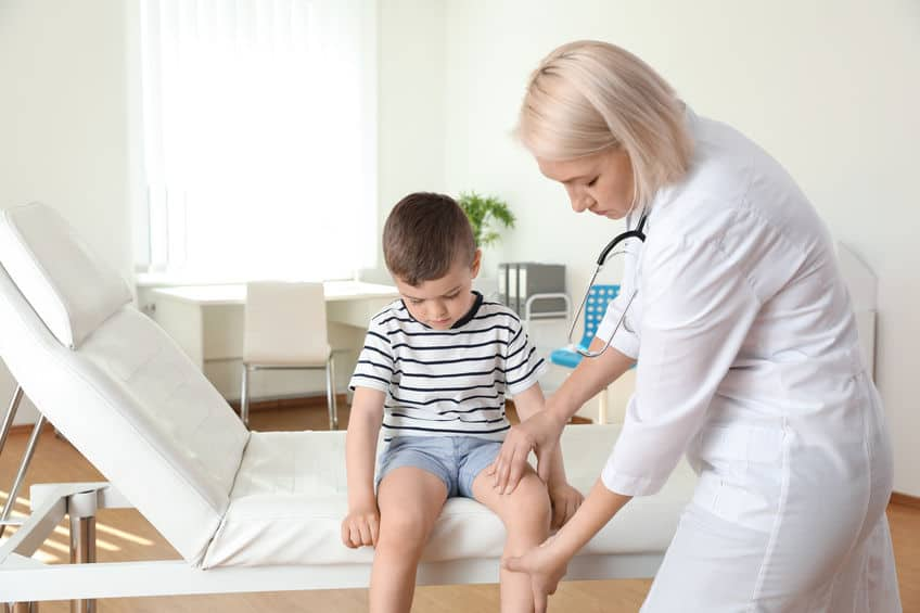 douleur genou enfant osgood Chlatter symptome