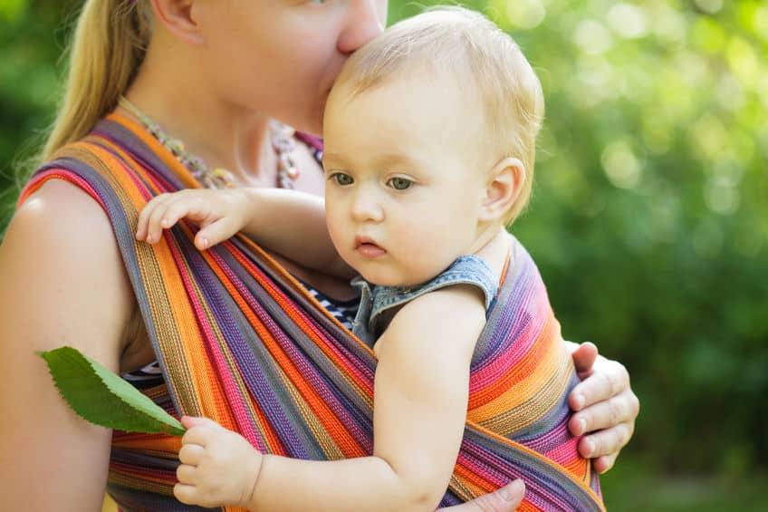 guide echarpe portage bebe